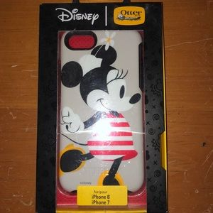 Disney Minnie Mouse Otterbox new iPhone 7 &8